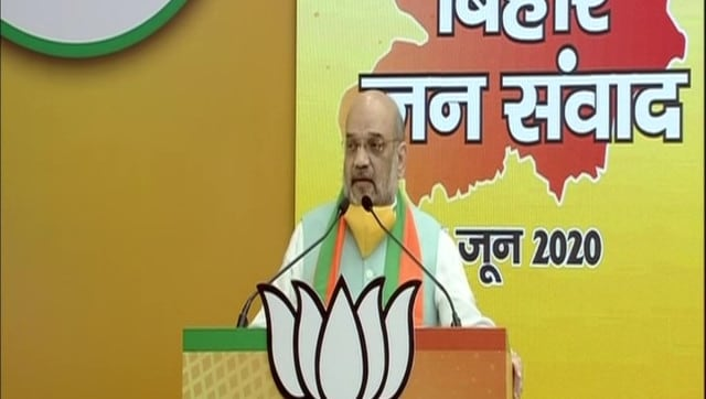 Amit Shah at Bihar Jan Samvaad rally: NDA will win two-thirds majority in Bihar polls under Nitish Kumar's leadership, says home minister – Firstpost